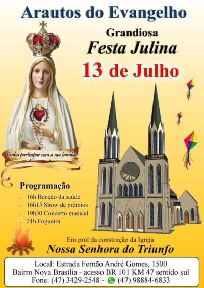 Convite: Grandiosa Festa Julina